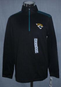 Jacksonville Jaguars NFL Quarter Zip Pullover Jacket Men's Size L