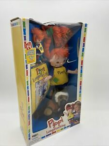 PIPPI LONGSTOCKING CLASSICAL COLLECTOR'S EDITION DOLL NEW Box Damage Vintage