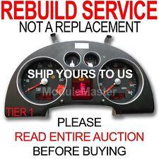 00 01 02 03 04 05 06 Audi TT AudiTT Instrument Cluster Gauges REBUILD TIER 1