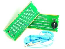 New DDR2 DDR3 DDR4 Complete Desktop PC RAM Slot LED Diagnostic Card Kit w/Strap
