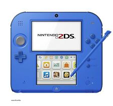 New Nintendo 2DS Console System Blue [Japanese Version] Free Shipping JP Seller