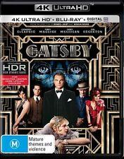 The Great Gatsby 4K Blu-Ray + UHD + UV : NEW 4K Ultra HD