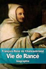 Vie de Rancé by François-René de Chateaubriand (2015, Paperback)