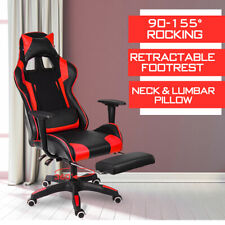High Back Executive Computer Office Chair Gaming Chair Swivel Leather Recliner