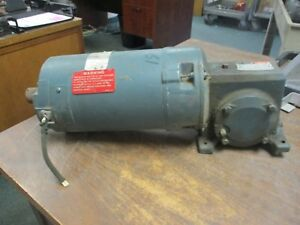 Reliance DC Gearmotor 721750-QC 3/4HP 1800RPM FR: UA56 Used