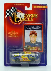 WINNER'S CIRCLE SQUARE D CHEVY #81 Kenny Wallace Blue Die-Cast Car 1997