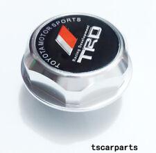Silver Engine Oil Filler Cap Made of Billet Aluminum Fit JAPAN CAR