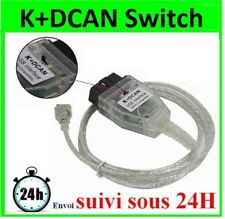 CABLE OBD2 INPA K+DCAN Interface de diagnostique BMW avec Commutateur Switch