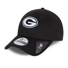 NEW ERA BLACK BASE 9FORTY SNAPBACK CAP. GREEN BAY PACKERS. BLACK