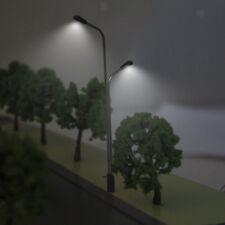 10 HO OO SCALE PREWIRED LED LIGHTS MODEL RAILWAY TRAIN TRACK STATION SCENERY