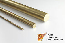 Messing  Rundmaterial Rundstange  D. 12 mm /250mm Lang