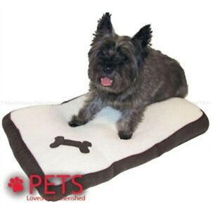 Memory Foam VERY HIGH QUALITY Soft Foldable Fleece Removeable Cover Pet Dog Bed