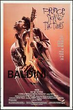 PRINCE - SIGN OF THE TIMES MOVIE - CONCERT POSTER, GREAT VALUE - GREAT QUALITY