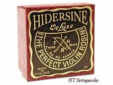 Hidersine Violin Viola Deluxe Rosin 6V NEW 30 Gram Cake ~Free U.S. Shipping~