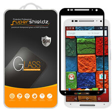 2X Supershieldz Moto X 2nd Gen Full Cover Tempered Glass Screen Protector