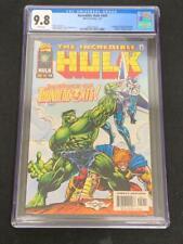 INCREDIBLE HULK #449,  (1997), Marvel Comics, CGC 9.8, 1st THUNDERBOLTS