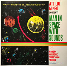 Attilio Mineo CONDUCTS MAN IN SPACE WITH SOUNDS New Sealed COLORED VINYL LP
