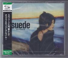SUEDE THE BEST OF 2 CD Japon SHM CD Set with obi Teci - 23697-8 SEALED NEW