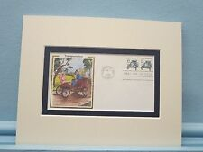 The Stanley Steamer Automobile & First Day Cover of its own stamp