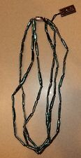 Honora Pearl Multistrand Green Necklace New Sterling Clasp