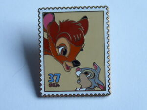 Disney Trading Pins 39770 First Day of Issue Collection - Friendship - Bambi
