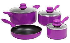 Cooking Sets Pots And Pans Nonstick Cookware Kitchen 7 Piece Aluminum Oven Safe