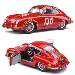 1/18 Solido Porsche 356 Pré-A N°130 James Dean Tribute Red 1953 Livrais Domicile