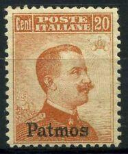 Patmo 1916 Sass. 9 Nuovo ** 40% Patmo