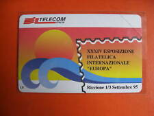 """ITALIA  SCADENZA 31-12-1996  """"EUROPA"""" a Riccione 1995  CAT.GOLDEN 445  LEGGI"""