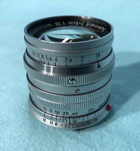 Leica Leitz Summarit 50mm 1.5, Leica M Bajonett