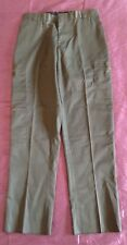 United Uniform Men's Security Pants Style W10266 Cut # 1106 Olive Green Size 16