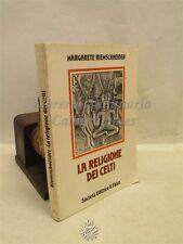 STORIA/MITO: Margarete Riemschneider, La RELIGIONE dei Celti, Il Falco Ed. 1979
