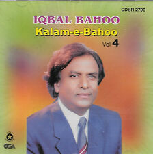 KALAM - E - BAHOO BY IQBAL BAHOO - VOL 4 - NEW SOUND TRACK CD