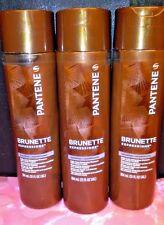 3 x Pantene Pro-V Brunette Expressions Daily Color Enhancing Shampoo 13 fl oz ea