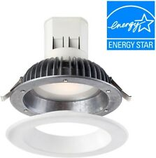 EnviroLite Easy Up 6 In. Warm White LED Recessed Home Light with 91 CRI 2700K