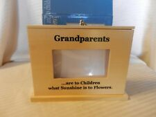 Wooden Grandparents are to Children What Sunshine Is To Flowers. Photo Box