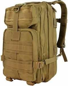 Condor Outdoor Products Compact Company Assault Pack, Coyote Brown From Japan