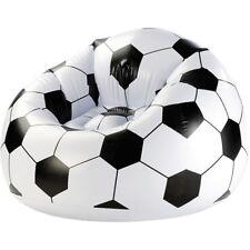 Aufblasbarer Sitzsack Fußball Sessel, max. 100kg, Maße ca. 94*70 cm WM Russland