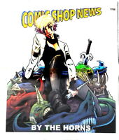 Comic Book Shop News #1722 VG(2020)BY THE HORNS, DC COMING PROMO NEWSPAPER WOW!