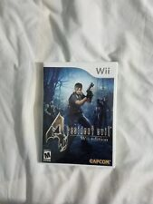 Resident Evil 4 Nintendo Wii Video Game Complete