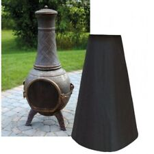 Outdoor Chimney Cover Chimenea Protector for Patio Heater Fire BBQ Waterproof