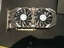 MSI GAMING GeForce GTX 1060 6GB GDRR5 192-bit HDCP Support DirectX 12 Dual Fan V