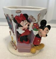 Mickey Minnie Mouse A Teleflora Gift Flowers From Mickey Vase so cute