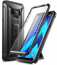US Genuine For Galaxy Note 9, SUPCASE Kickstand Case w/ Screen Phone Cover BLACK