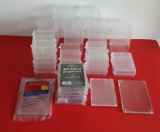 37 Piece Lot of Used Baseball/Hockey Card Storage Supplies plus some New!