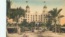 MIAMI BEACH, FLORIDA - THE NAUTILUS HOTEL - OLD POSTCARD VIEW ALBERTYPE POSTCARD