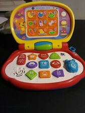 Vtech Brilliant Baby Laptop Lights Up, Music, Songs Works Great