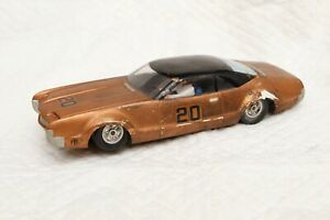 Oldsmobile 1967 Toronado vintage body scratchbuilt chassis MRRC motor 1/32