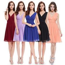 Summer V-Neck Dresses for Women with Empire Waist