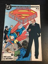 The Man Of Steel#4 Awesome Condition 8.0(1986) Lex Luthor,Byrne Art!!